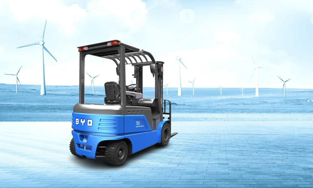 BYD counterbalance electric forklift